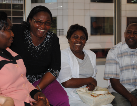 A Visit from Kenyan Partners