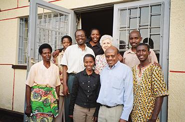Beth Hookey in Rwanda