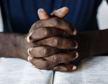 What does prayer have to do with alleviating poverty?