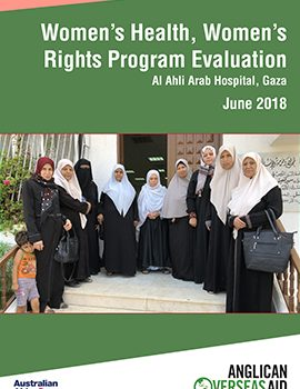 Women's Health, Women's Rights Project, Gaza