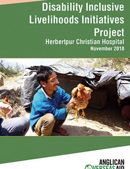 Disability Inclusive Livelihoods Initiatives Project, India