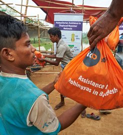 Assistance to Rohingya refugees in Bangladesh