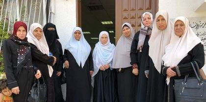 Breast cancer patients and survivors in Gaza