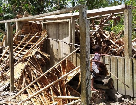 Pacific nations suffer as cyclone hits during COVID-19 concerns