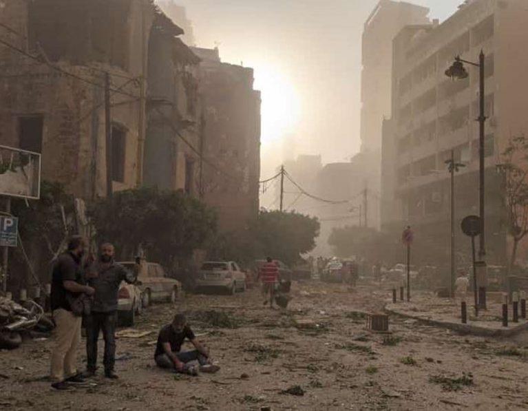 Beirut, Lebanon explosion – sending emergency assistance