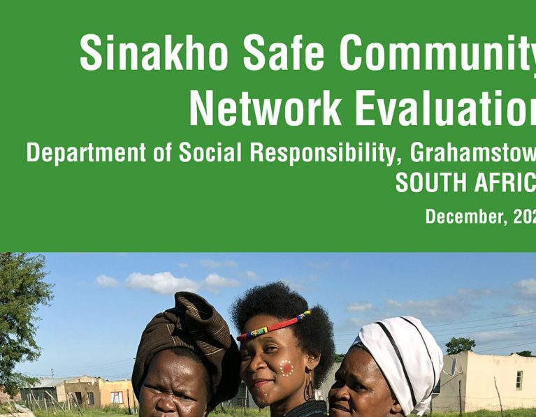Sinakho Safe Community, South Africa