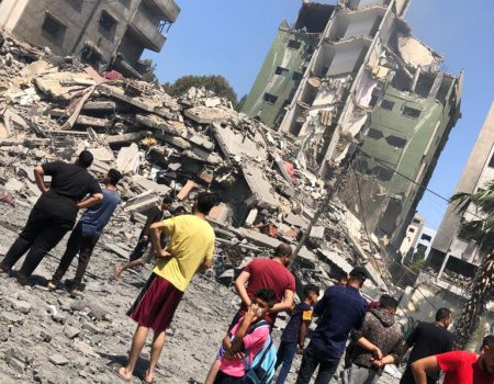 Heartbreak in Gaza