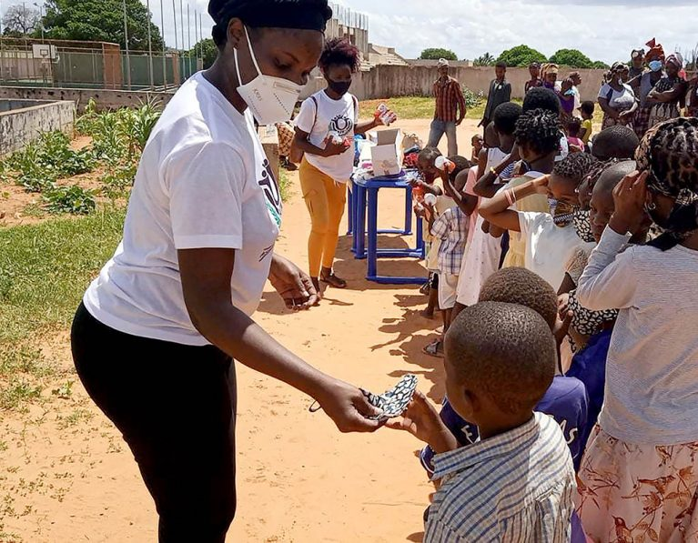 Love in Action: Ministering to the displaced in Mozambique